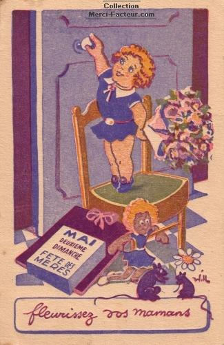 Carte Fleurissez vos Mamans