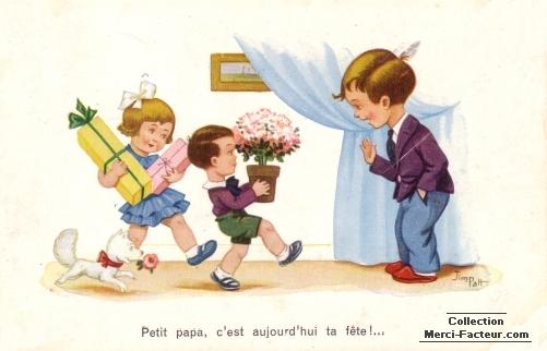 Petit Papa, c'est aujourd'hui ta fête