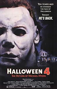 affiche du film Halloween 4 Le retour de Michael Myers