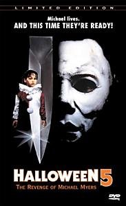 affiche du film Halloween 5 La vengance du Michael Myers