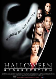 affiche du film Halloween 8 resurrection