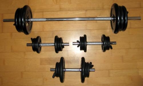 Altères de musculation pour maigrir et se muscler