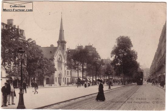 boulevard des batignolles ࠐaris