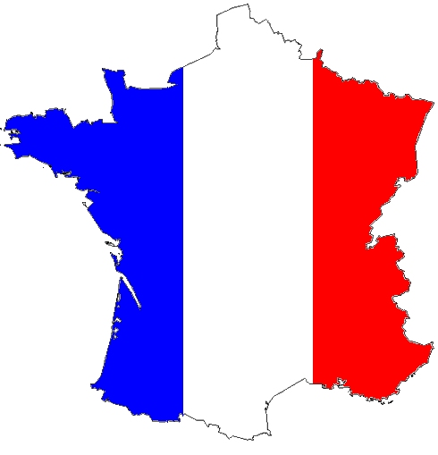 Carte de France Design Carte Postale de France Avec