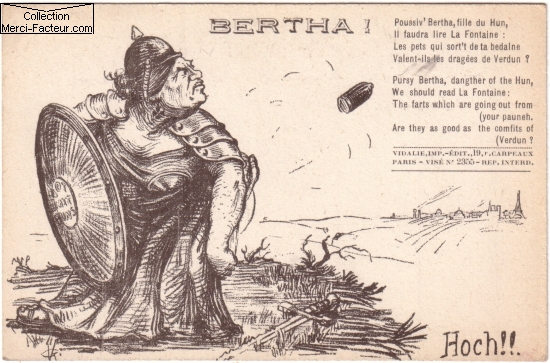 la grosse bertha allemand de 1418