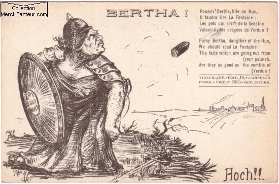 la grosse bertha allemand de 1418