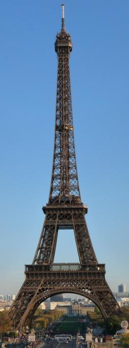 photographie de la tour eiffel à Paris pour carte postale