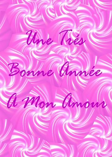 carte de voeux gratuite rose pour amoureux