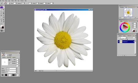 comment faire un coloriage avec Artweaver pour faire un carte à colorier de voeux
