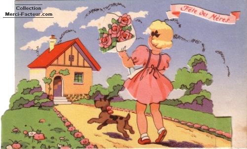 Maison basque et roses pour la fête des mères