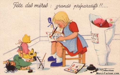 Grands preparatifs pour la fete des mères