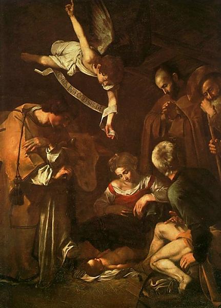 Creche de Noel de Michelangelo Merisi