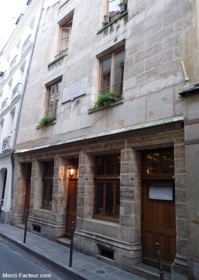 Plus vielle maison de PARIS 51 rue de Montmorency maison de Nicolas Flamel