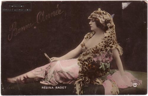 Carte postale de Regina Badet actrice