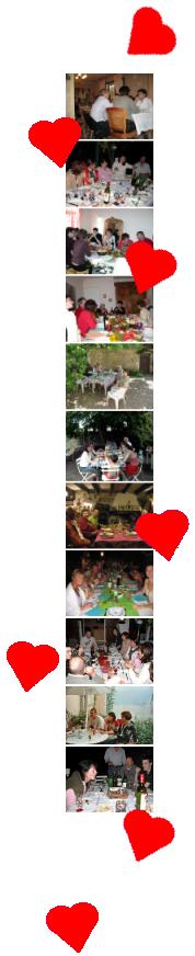 repas de fête des mères pour envoyer une carte