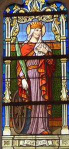 Vitrail de Sainte Catherine