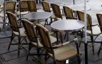 terasse de café à Paris